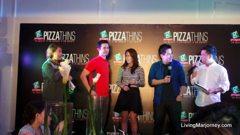 John Lloyd Cruz at the Greenwich Thin Crust Pizza