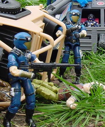 1998 Cobra Trooper, Viper, TRU Exclusive, BJ's Fast Blast Viper, 2002