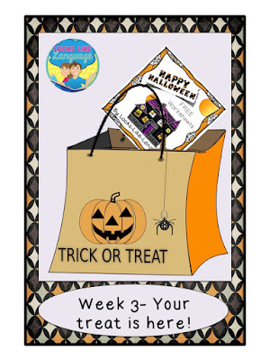 This Free Halloween download from Looks-Like-Language may make homework easier!
