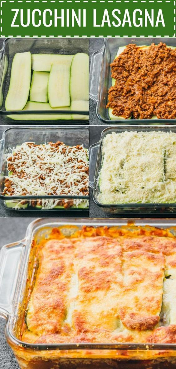 ★★★★☆ 1671 ratings    | ZUCCHINI LASAGNA WITH GROUND BEEF #ZUCCHINI #LASAGNA #GROUND #BEEF
