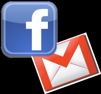 إنشاء بريد الكتروني Gmail وحساب فيس بوك