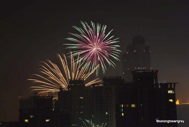 Fireworks, Xujiahui, Shanghai, Chinese New Year