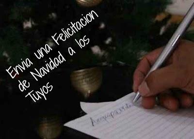 Envia una Felicitacion de Navidad a los Tuyos