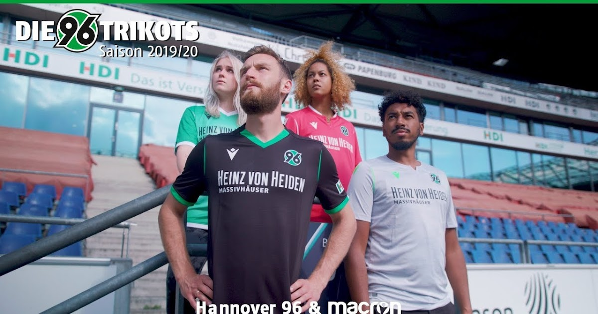 Macron Hannover 96 2019-20 Home, Away And Third Kit
