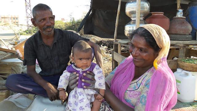 Nuestro día a día en los slums