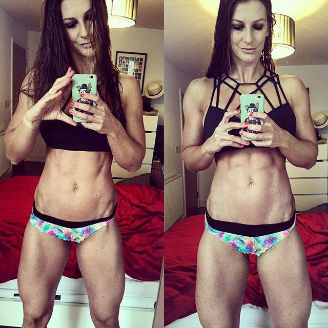 Fitness model JOHANNA HESS Instagram photos