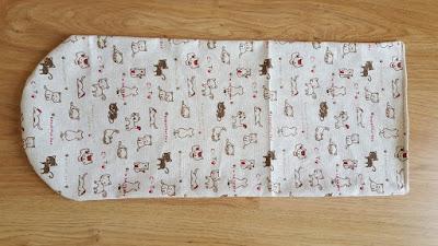 DIY envelope purse organizer tutorial