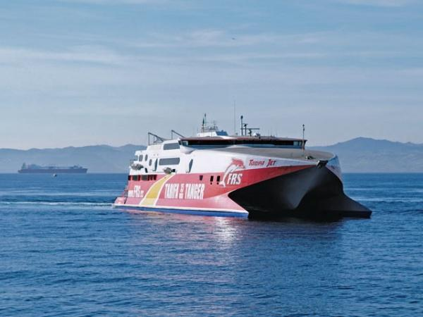 "World Wide Ferries: Fast ferry ""Tarifa Jet"""