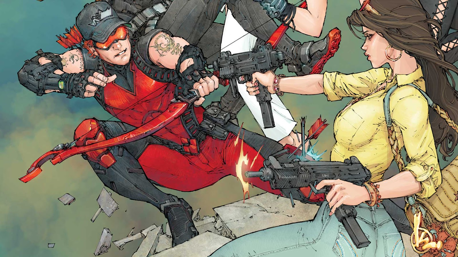 Weird Science Dc Comics Red Hood And The Outlaws Annual 2 Review