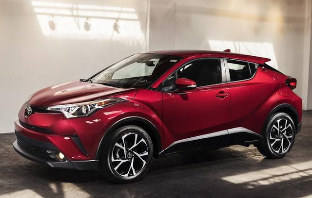 2018 Toyota C-HR Specs Dimensions