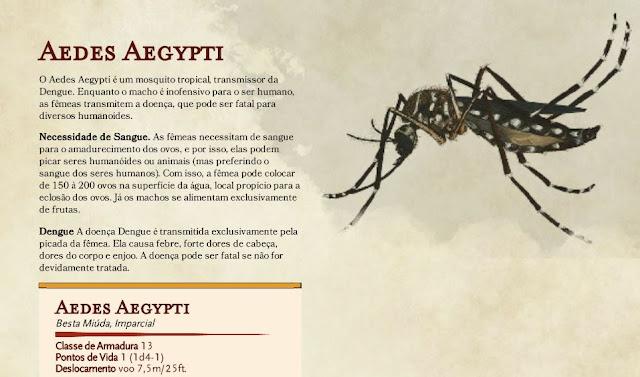 Aedes Aegypti para D&D
