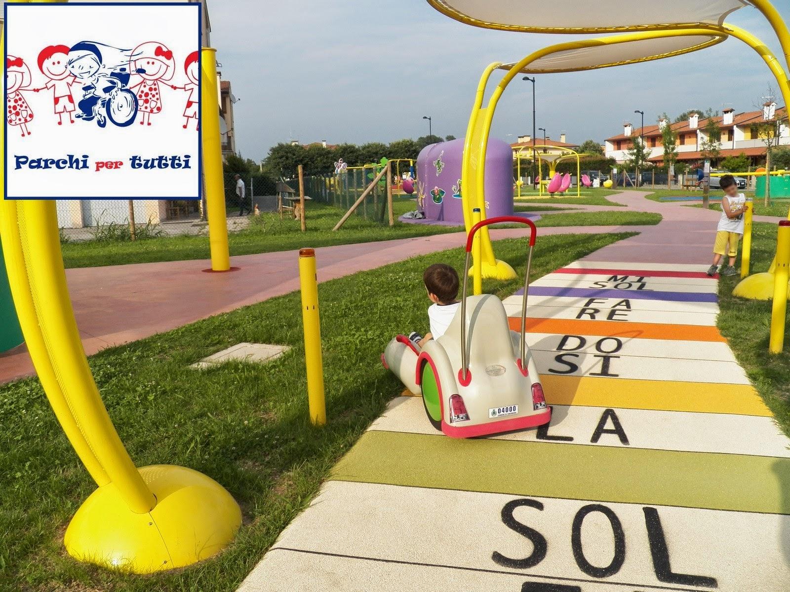 Fabuleux La nostra gita al parco giochi inclusivo di Fontaniva - Parchi per  LK08
