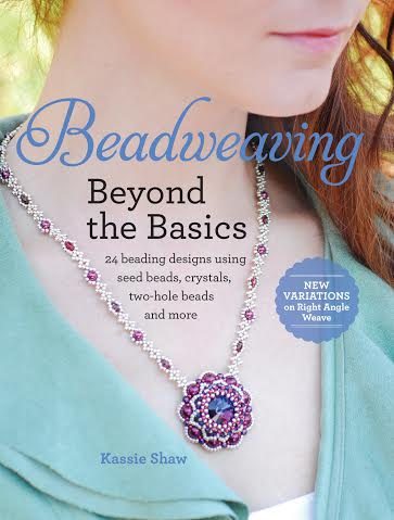 Book cover Beadweaving and beyond