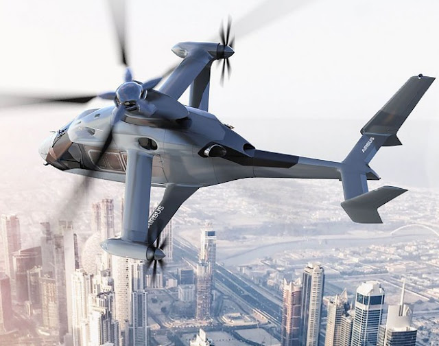 Airbus Latest Helicopter Concept The  'Racer' Has Wings and Cruises At 250MPH Speed