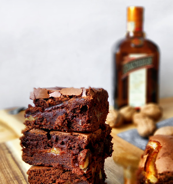 brownie de naranja