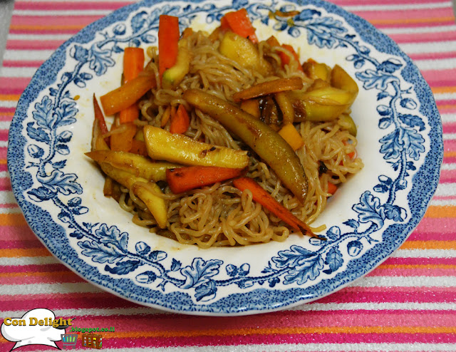 Nice bowl of low calorie stir fry