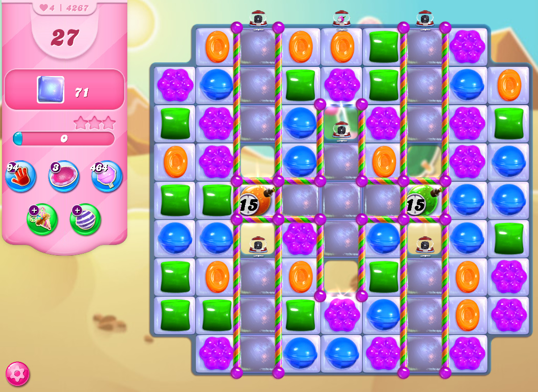 Candy Crush Saga level 4267