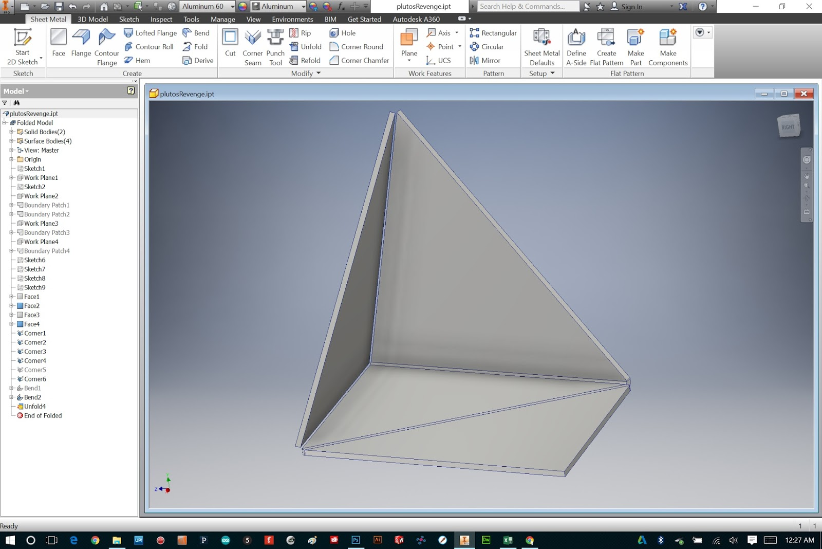 Bryan Cera: Autodesk Inventor: Sheet Metal Tabs and Fasteners