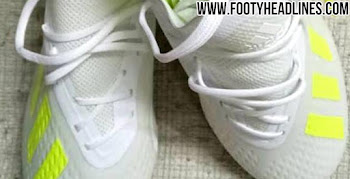 89622829545c34 White   Solar Yellow Adidas X 18+  Virtuoso Pack  2019 Boots Leaked