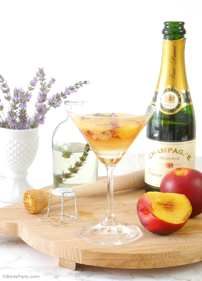 Lavender Cocktail Recipe - via BirdsParty.com