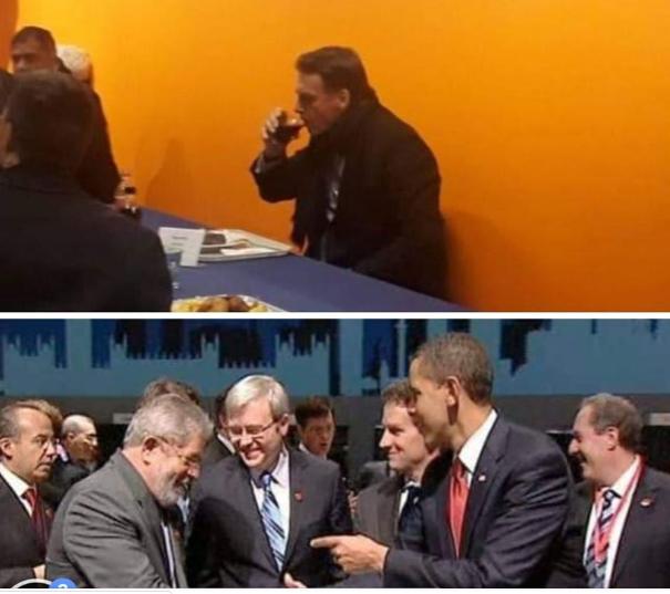 7ab0a5fbb Enquanto Lula era paparicado pelo homem mais poderoso do mundo ( o  presidente dos EUA)