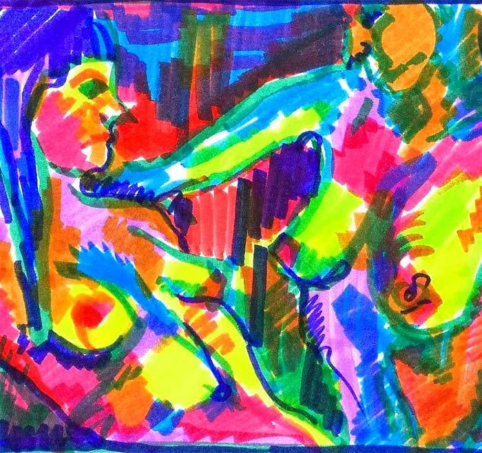 Новозеландская художница. Jennifer Majeske