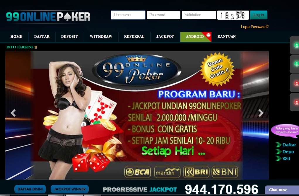 LINK ALTERNATIF 99ONLINEPOKER | Informasi Seputar Poker Online