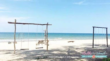 Ramai Yang Tak Tahu Pantai Cantik Ini Hanya Di Kuala Terengganu
