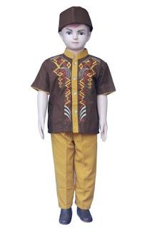 Desain baju muslim anak laki-laki keren
