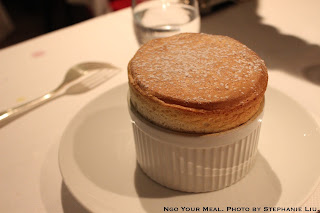 Hot Chartreuse Souffle at Le Violon d'Ingres