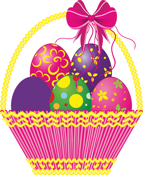 free easter basket clipart - photo #36