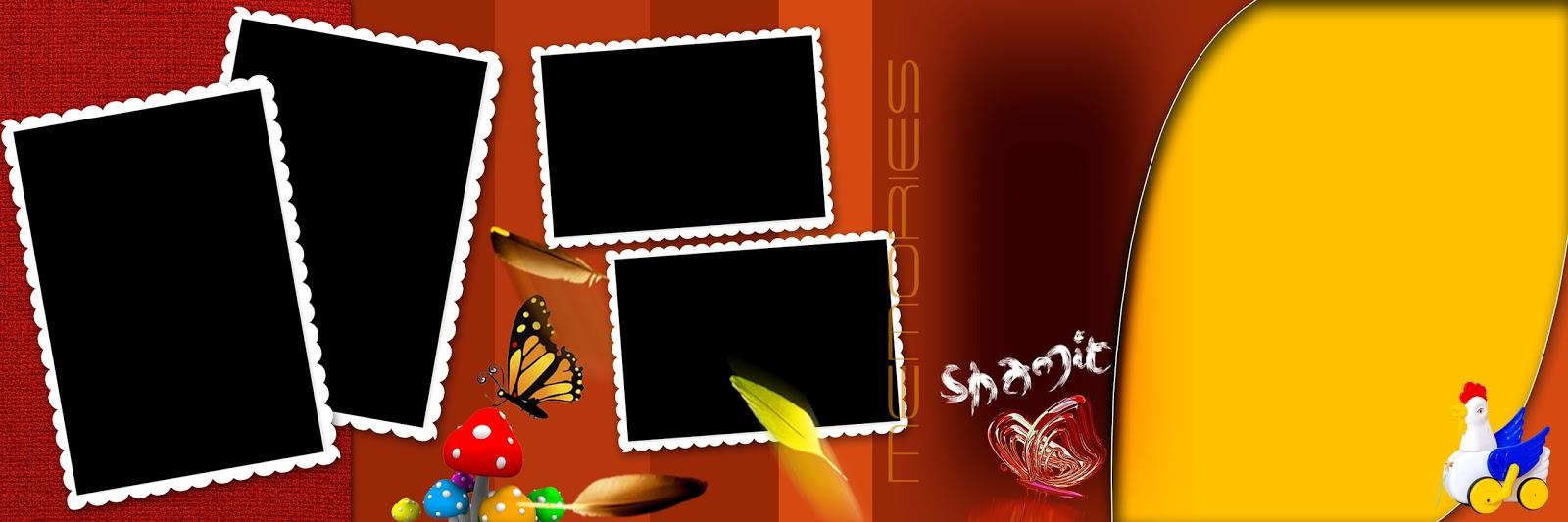 √ Birthday Album Design Templates   www RanjithGFX com