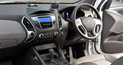 Interior Hyundai Sonata YF