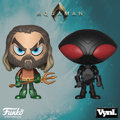 Aquaman Movie Vynl 2 Pack by Funko – Aquaman & Black Manta
