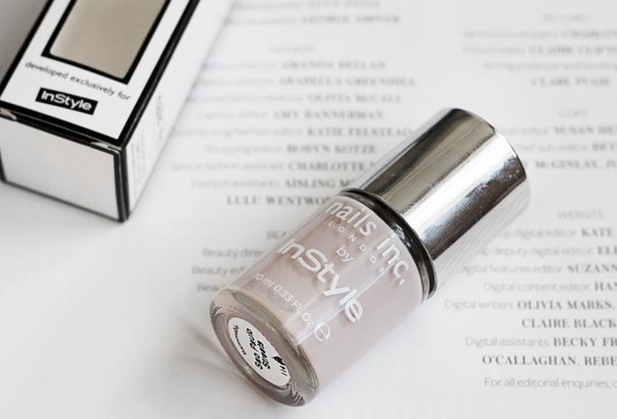 NOTD | nails inc. polish by InStyle Magazine
