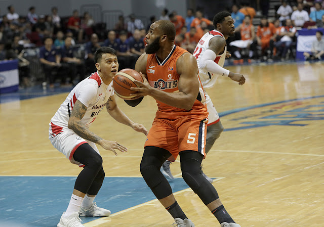 LIST: Meralco Bolts Top 10 Leading Scorers 2018 PBA Commissioner's Cup