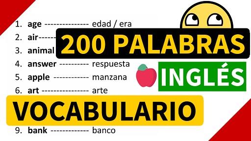 200 Palabras Importantes En Ingles Para Aprender Y Su Significado En