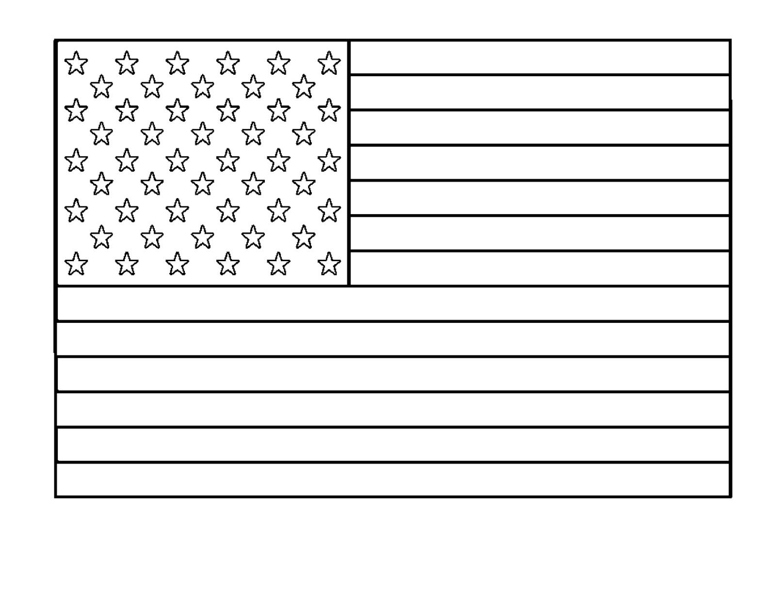 Dessins et coloriages 5 coloriages du drapeau des etats - Drapeaux a colorier ...