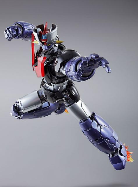 osw.zone Bandai METAL BUILD Mazinger Z 7-Zoll / 18 cm Tall-Druckguss-Roboter-Figur - am meisten artikuliert aller Zeiten