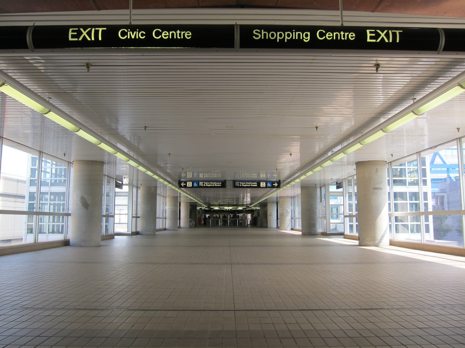 Scarborough Centre concourse level