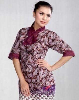 Kemeja batik kombinasi modis terbaru untuk kondangan