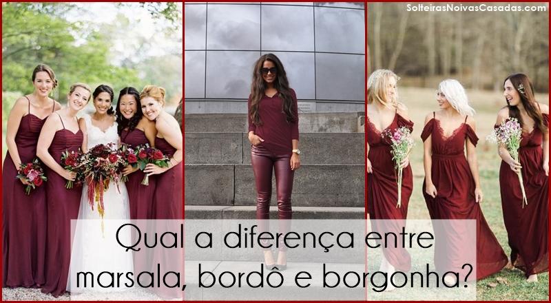diferença entre marsala, bordô e borgonha
