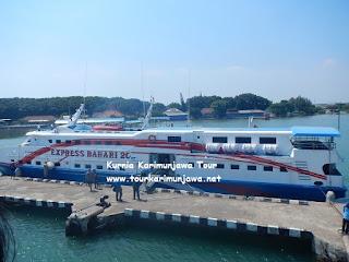 foto kapal express jepara karimunjawa terbaru