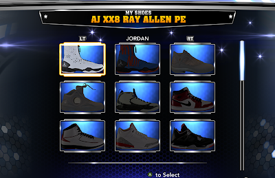 NBA 2K14 Update New Jordan Shoes Added