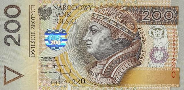Poland 200 Zlotych