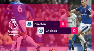 Everton vs Chelsea 0-0