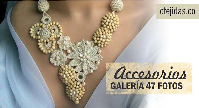 Galería: Accesorios a Crochet - 47 Fotos
