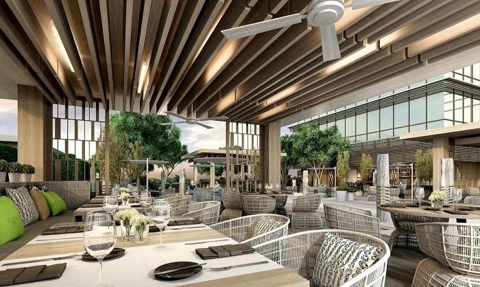 The Courtyard by Marriott Poolbar