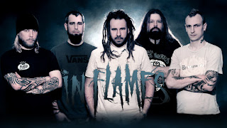 Photo des membres du groupe In Flames