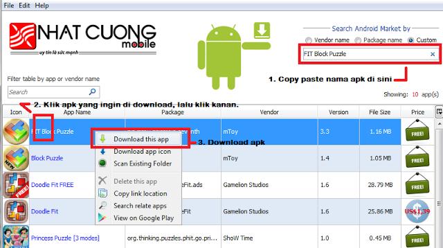 Cara Download Game Untuk HP Android